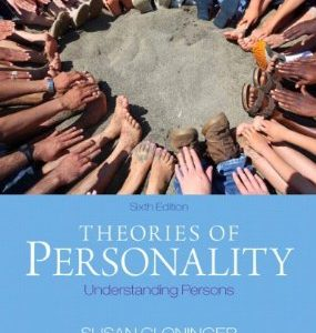 Test Bank for Theories of Personality Understanding Persons