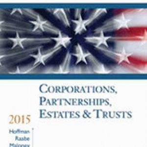 Solution Manual for South-Western Federal Taxation 2015: Corporations