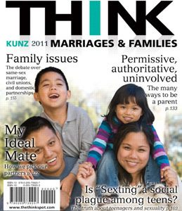 Test Bank for THINK Marriages and Families