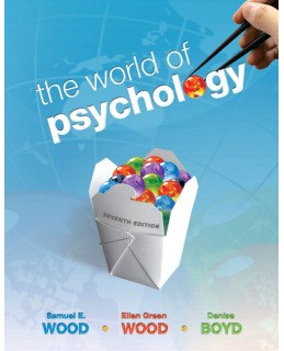 Test Bank for The World of Psychology
