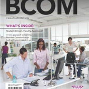 Solution Manual for BCOM