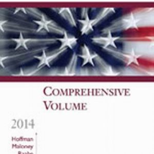Solution Manual for South-Western Federal Taxation 2014: Comprehensive