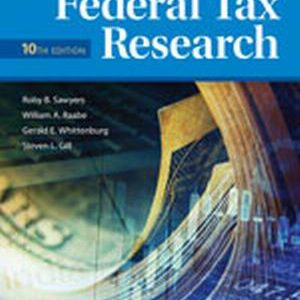 Solution Manual for Federal Tax Research