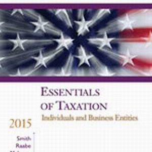 Test Bank for South-Western Federal Taxation 2015: Essentials of Taxation: Individuals and Business Entities