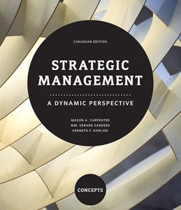 Test Bank for Strategic Management A Dynamic Perspective Concepts