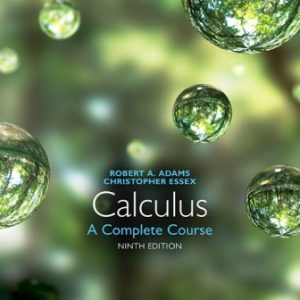 Solution Manual for Calculus: A Complete Course 9E Adams