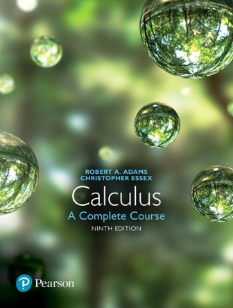 Test Bank for Calculus: A Complete Course 9E Adams