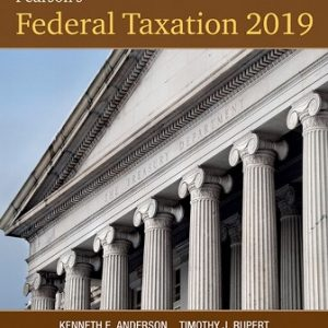Test Bank for Pearson's Federal Taxation 2019 Corporations, Partnerships, Estates and Trusts 32E Rupert