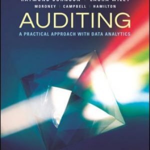 Solution Manual for Auditing: A Practical Approach with Data Analytics 1E Johnson