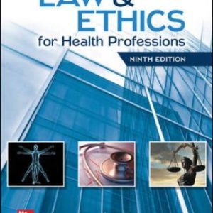 Test Bank for Law and Ethics for Health Professions 9E Judson