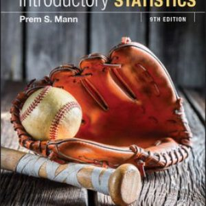 Test Bank for Introductory Statistics 9E Mann