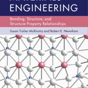 Solution Manual for Materials Engineering Bonding, Structure, and Structure-Property Relationships 1E Trolier-McKinstry