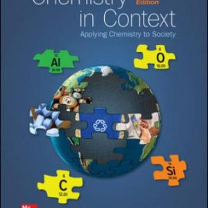 Solution Manual for Chemistry in Context 10E American Chemical Society