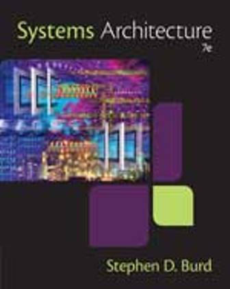Test Bank for Systems Architecture 7E Burd