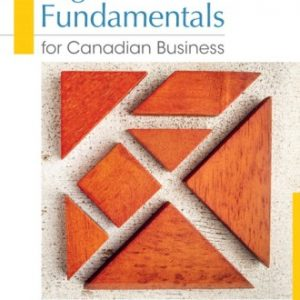 Test Bank for Legal Fundamentals for Canadian Business 4E Yates