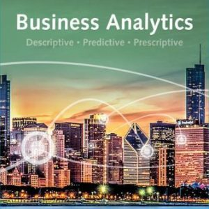 Test Bank for Business Analytics 4E Camm