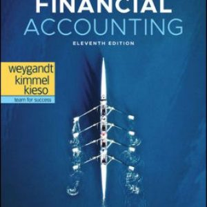 Solution Manual for Financial Accounting 11E Weygandt
