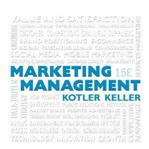 Test Bank for Marketing Management 15E Kotler