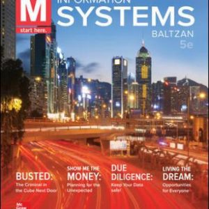 Test Bank for M: Information Systems 5E Baltzan