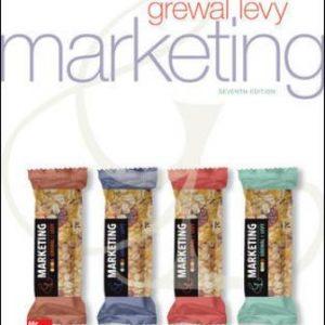 Test Bank for Marketing 7E Grewal