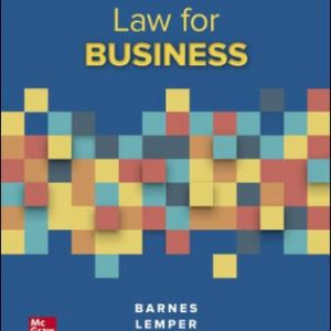Test Bank for Law for Business 14E Barnes
