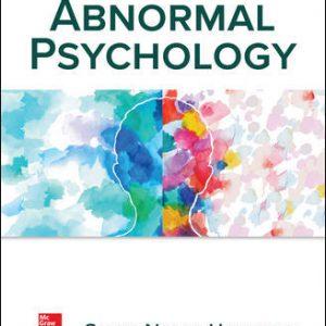 Test Bank for Abnormal Psychology 8E Nolen-Hoeksema