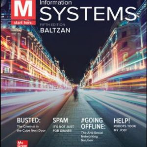 Test Bank for M: Information Systems 6E Baltzan