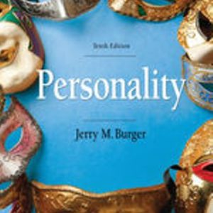 Test Bank for Personality 10E Burger
