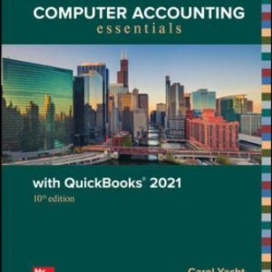Solution Manual for Computer Accounting Essentials with QuickBooks 2021, 10E Yacht