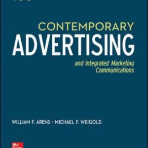 Test Bank for Contemporary Advertising, 16E Arens