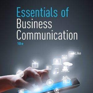 Test Bank for Essentials of Business Communication, 10E Guffey