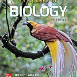 Test Bank for Principles of Biology, 3E Brooker
