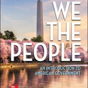 Test Bank for We The People, 14E Patterson