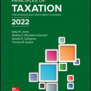 Test Bank for Principles of Taxation for Business and Investment Planning 2022 Edition 25E Jones