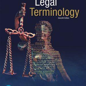 Test Bank for Legal Terminology, 7E Kauffman