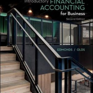 Test Bank for Introductory Financial Accounting for Business, 2E Edmonds