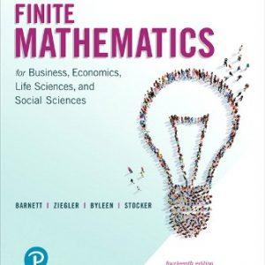 Solution Manual for Finite Mathematics for Business, Economics, Life Sciences, and Social Sciences 14E Barnett